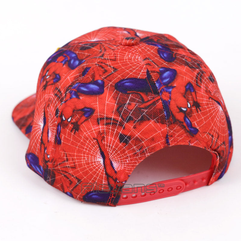 Spiderman All in Red Streetwear Snapback Baseball Cap
