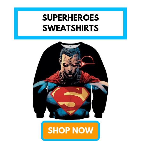 Superheroes Sweatshirts