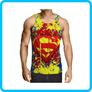 Superheroes Tank Tops