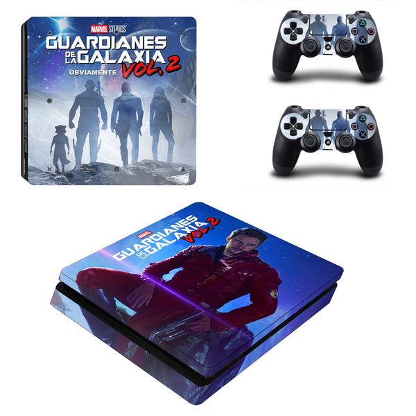 Guardian of the Galaxy Movie Poster PS4 Slim Skin