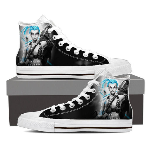League of Legends Jinx Loose Cannon Cool Printed Sneaker Converse Shoes