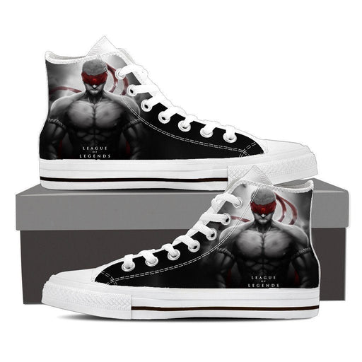 League of Legends Lee Sin Powerful Monk Design Sneaker Converse Shoes