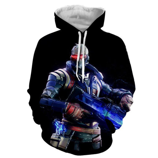 Overwatch Soldier 76 Jack Morrison Offense Class Winter Hoodie