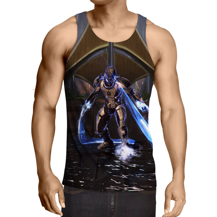 Mass Effect Dragoon Cerberus Unit Lashes Game Style Tank Top