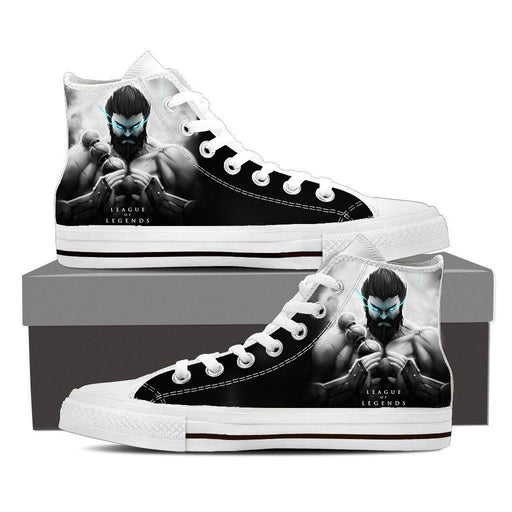 League of Legends Udyr Spirit Walker 3D Printed Sneaker Converse Shoes