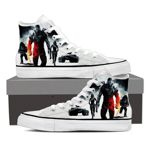 Mass Effect Collab Battlefield Converse Sneaker Shoes