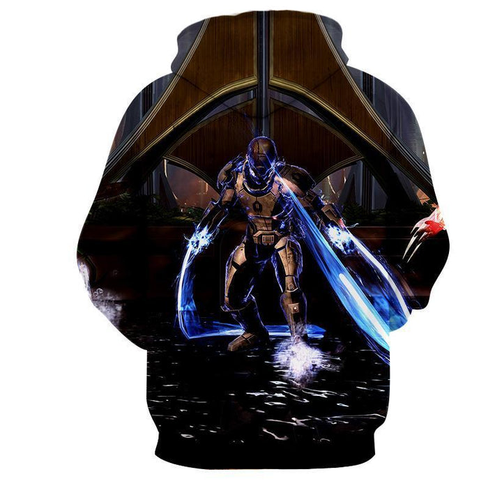 Mass Effect Dragoon Cerberus Unit Lashes Game Style Hoodie