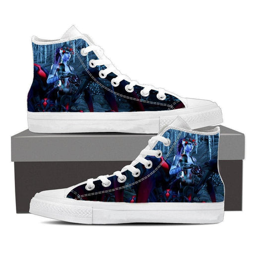 Overwatch Widowmaker Spider Queen Sneakers Converse Shoes