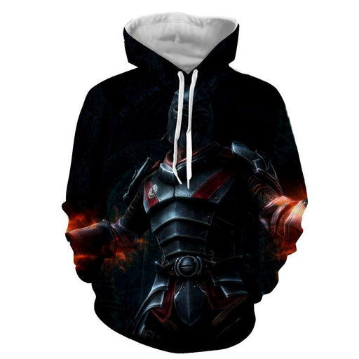 Kingdoms of Amalur Reckoning Medieval Battle Armor Hoodie - Superheroes Gears