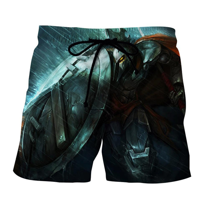League of Legends Pantheon Striking Strategy Champion 3D Print Shorts