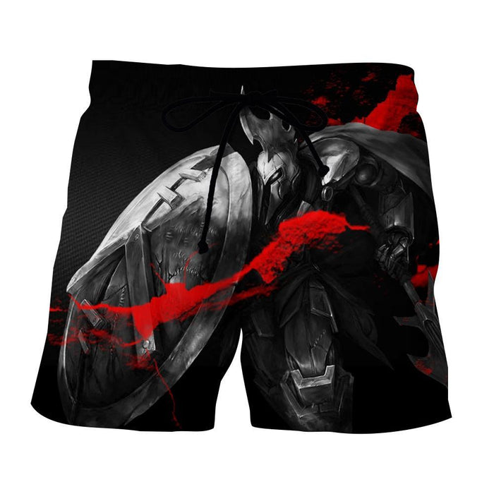 League of Legends Impressive Pantheon Weapon Cool Printing Shorts