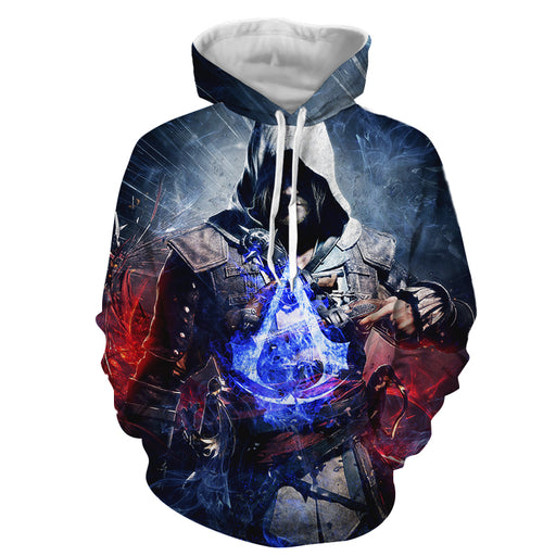 Assassin's Creed Rebellious Jacob Frye Vibrant Print Hoodie