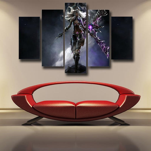 League of Legends Secretive Irelia Vigor Attractive Edition 5pc Wall Art
