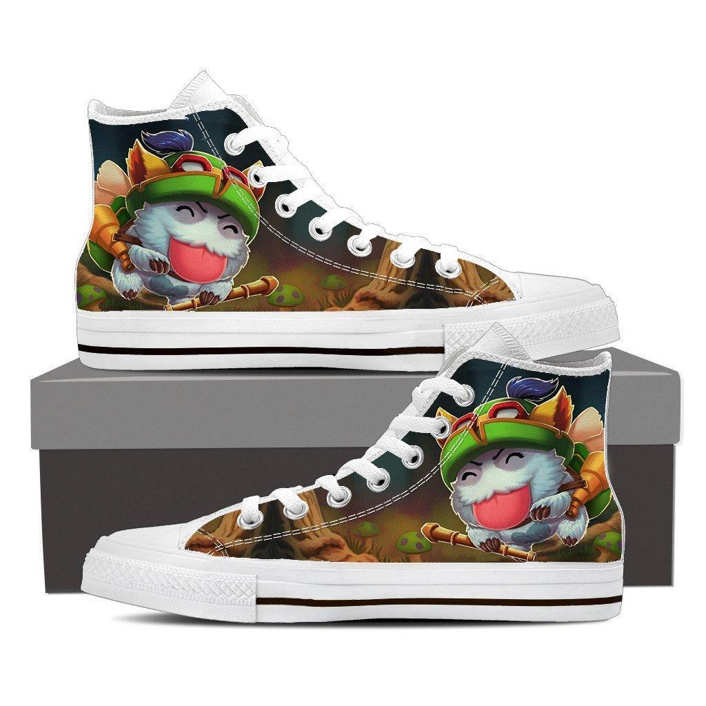 League Of Legends Teemo Champion Funny Theme 3d Printed Converse