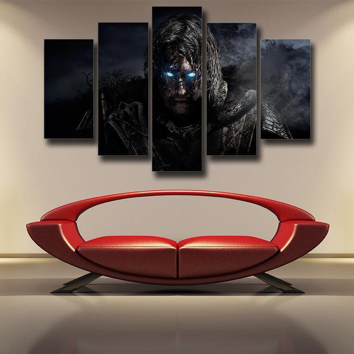 Middle Earth Shadow of Mordor 5pc Wall Art Canvas Prints