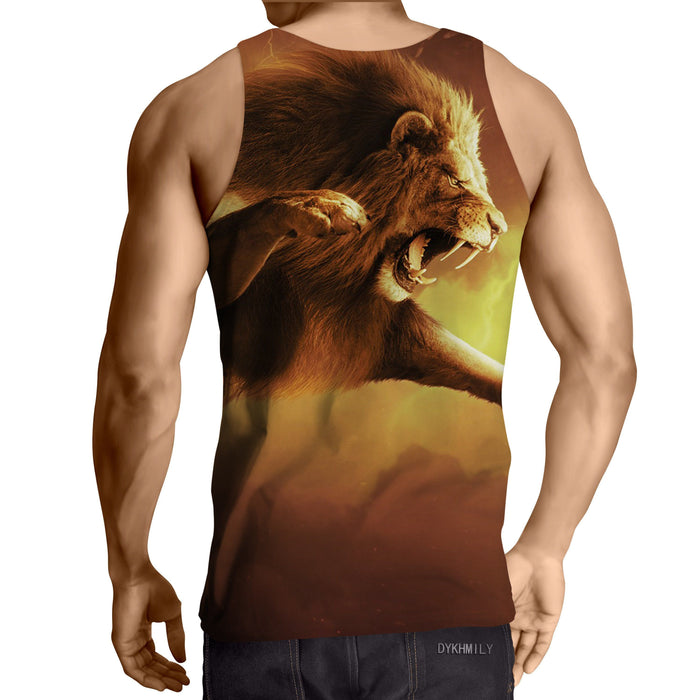 Nemean Lion Greek Legendary Monster Full Print Tank Top