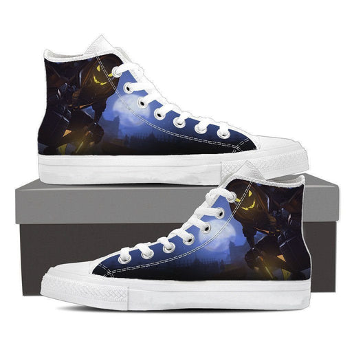 Overwatch Reaper Deathly Hero Silent Sneakers Converse Shoes