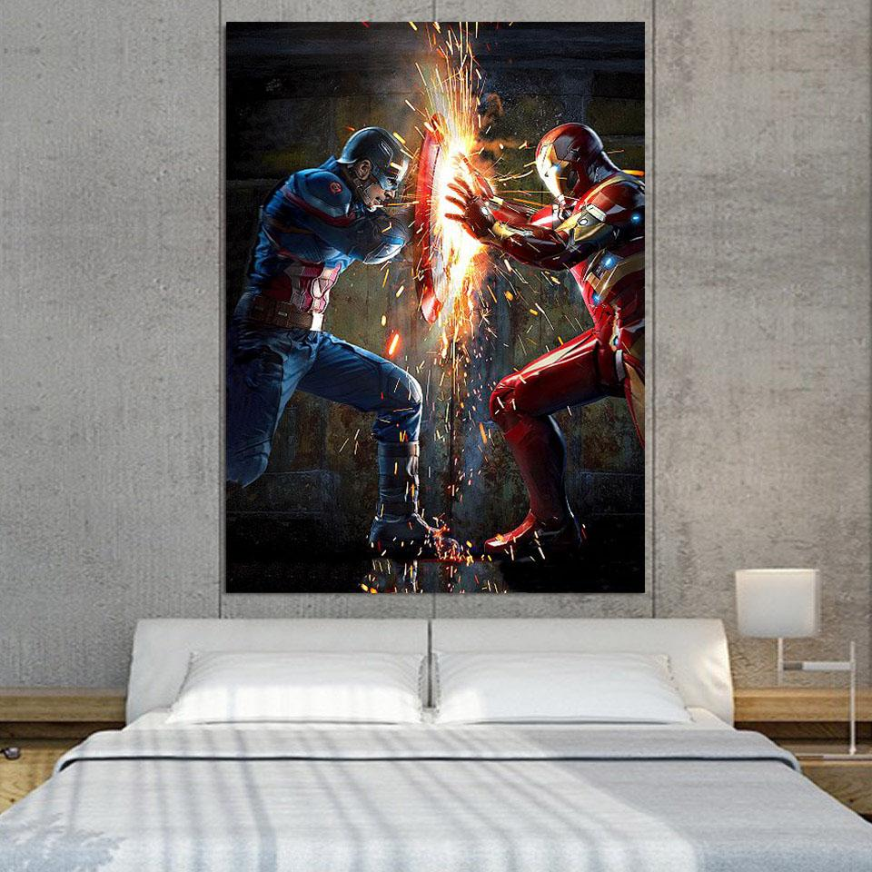 Canvas Prints Wall Art & Decor - Superheroes