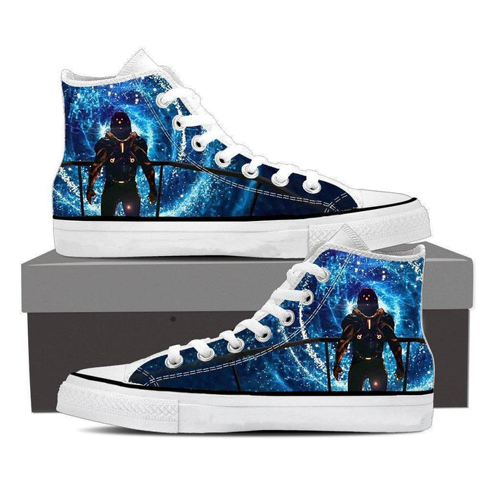 Mass Effect Captain Space Wormhole Converse Sneaker Shoes