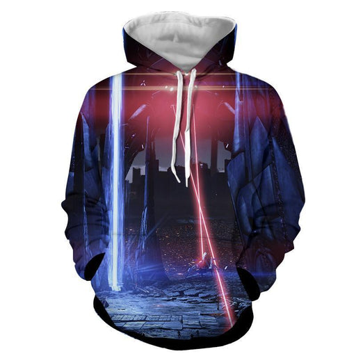 Mass Effect Reaper Laser War Machine Destruction Hoodie
