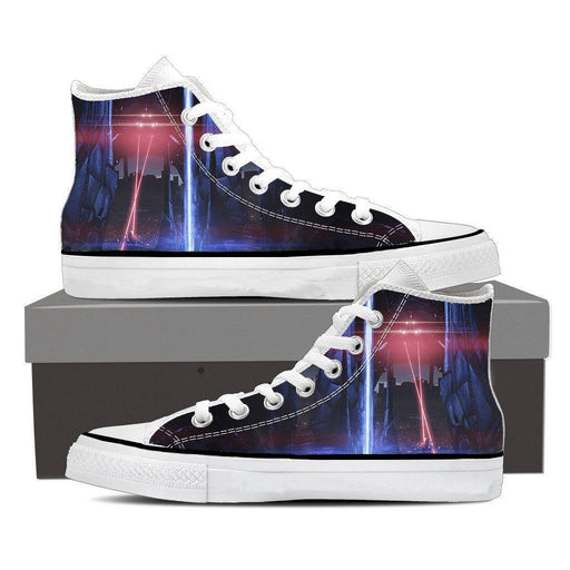 Mass Effect Reaper Laser War Machine Converse Sneaker Shoes