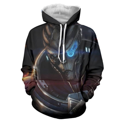 Mass Effect Vetra NYX Rider Squad Turian Portrait Hoodie