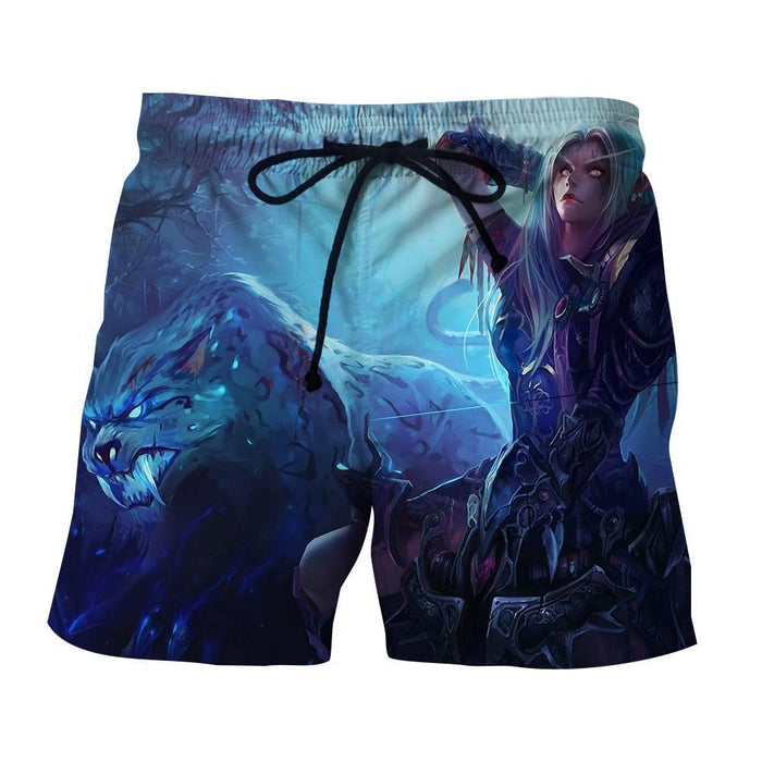 World of Warcraft Sylvanas The Forsaken Queen Art Shorts