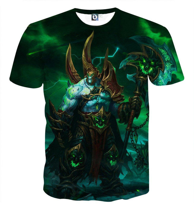 World of Warcraft Legion Fan Art Fighter Gaming T-Shirt