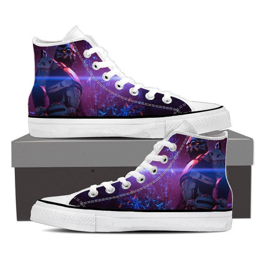 Mass Effect Turian Battle Armor Game Converse Sneaker Shoes