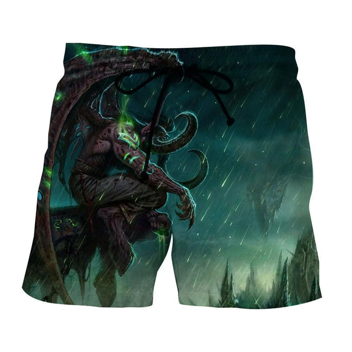 World of Warcraft Illidan The Betrayer Hunter Game Shorts