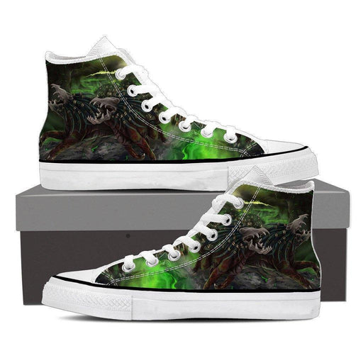 World of Warcraft Felhound Monster Creature Artwork Sneaker Converse Shoes