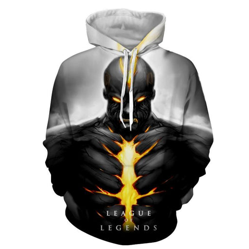 League of Legends Brand Burning Vengeance Cool Design Hoodie - Superheroes Gears