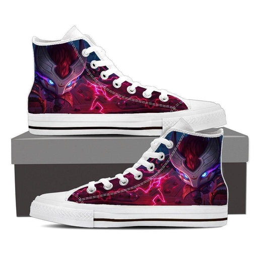 League of Legends Kennen Thundering Shuriken Cool 3D Converse Shoes