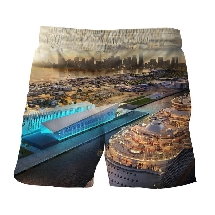 Royal Caribbean Cruise Ships Miami Florida Amazing Shorts