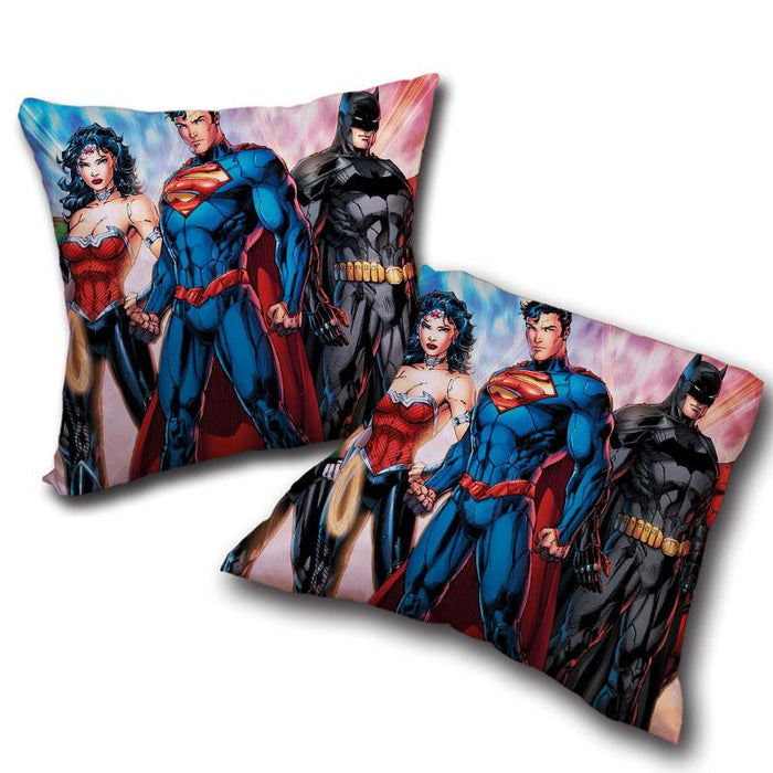 Justice League Heroes Dope Art Design 3D Decorative Throw Pillow - Superheroes Gears