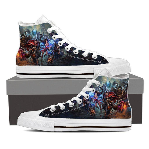 League of Legends Champions Battle Heroes Awesome Printed Converse Shoes