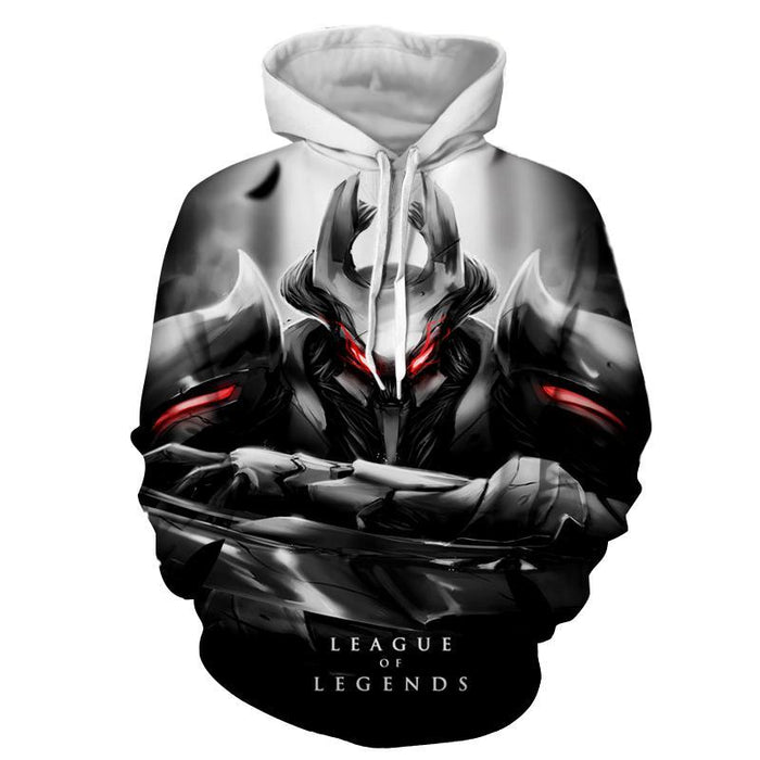 League of Legends Mordekaiser Fighter 3D Full Printed Hoodie