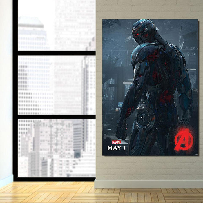 Marvel The Avengers Lonely Ultron Stylish 1pcs Canvas Print