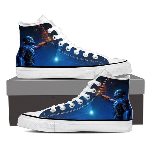 Mass Effect Tali Zorah Sexy Gaming Converse Sneaker Shoes