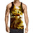 Cat Eyes Innocent Look Glowing Art Print Autumn Tank Top - Superheroes Gears