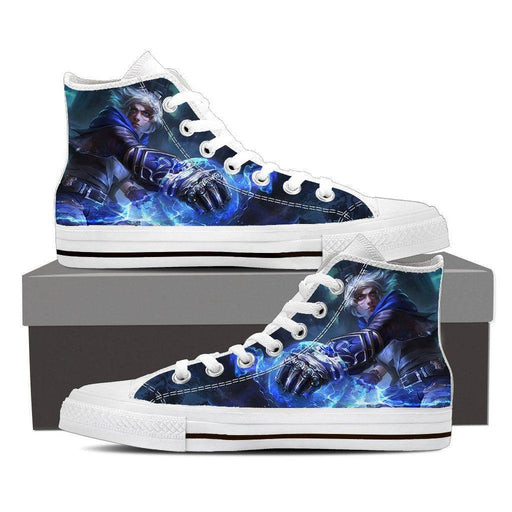 League of Legends Frosted Ezreal Cool Design 3D Printed Converse Shoes
