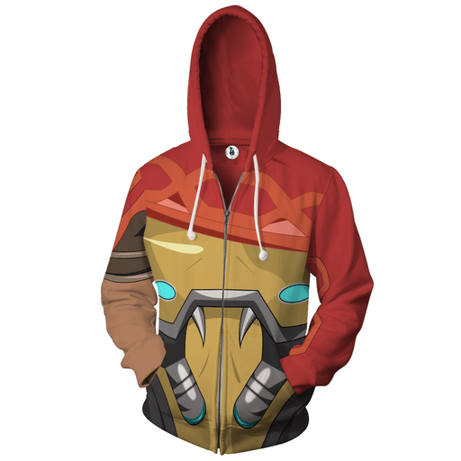 Overwatch McCree Fabulous Gangster Outlaw Dope Zip Up Hoodie