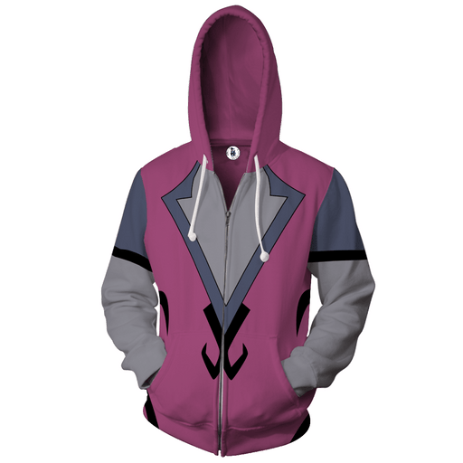 Overwatch Widowmaker Amelie Lacroix The Sniper Zip Up Hoodie