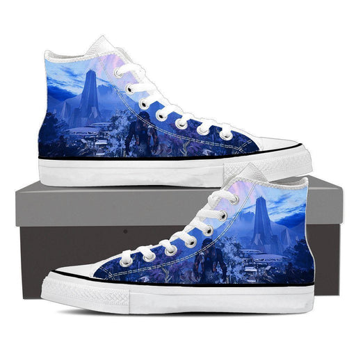 Mass Effect Andromeda Planet Alien Converse Sneaker Shoes - Superheroes Gears