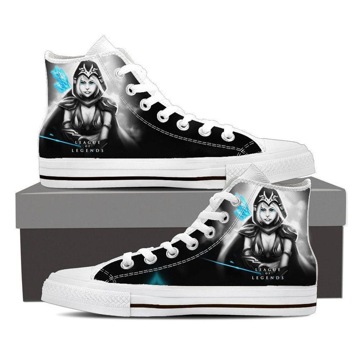 League of Legends Ashe Archer Dope 3D Printed Sneaker Converse Shoes - Superheroes Gears