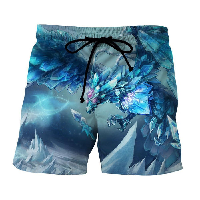 League of Legends Anivia Powerful Cryophoenix Cool Design Summer Shorts - Superheroes Gears