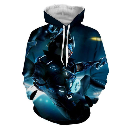 Overwatch Tracer Cadet Oxton Skin Cool Vibe Trending Hoodie