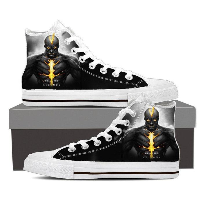 League of Legends Brand Burning Vengeance Sneaker Converse Shoes - Superheroes Gears