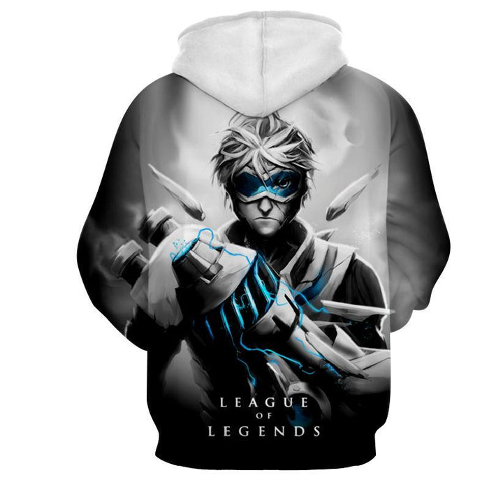 League of Legends Ezreal Prodigal Explorer 3D Artwear Hoodie - Superheroes Gears