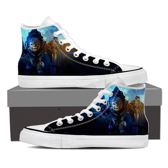 Mass Effect Urdnot Wrex Battlemaster Converse Sneaker Shoes